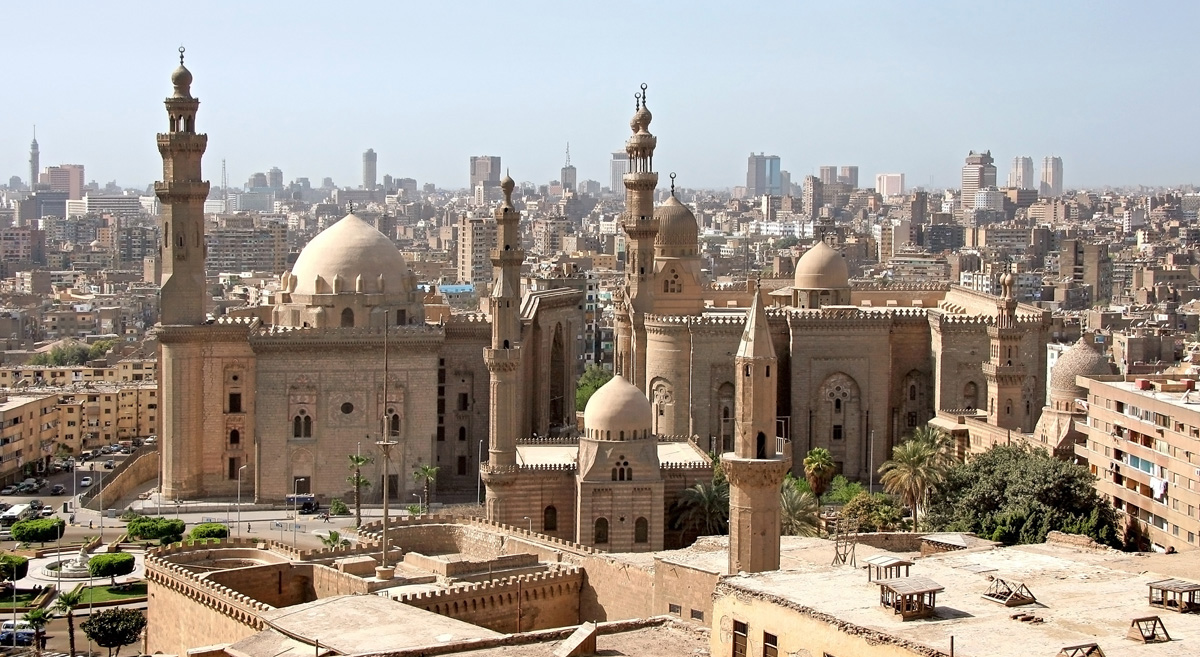 View of Cairo from the Citadel; Shutterstock ID 90247558
